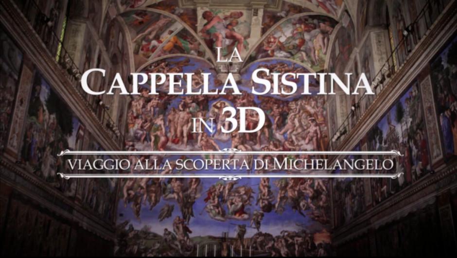 Sistine Chapel 3D